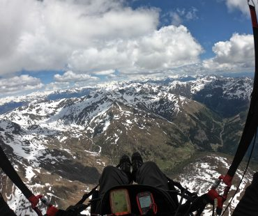 Flying The Alps